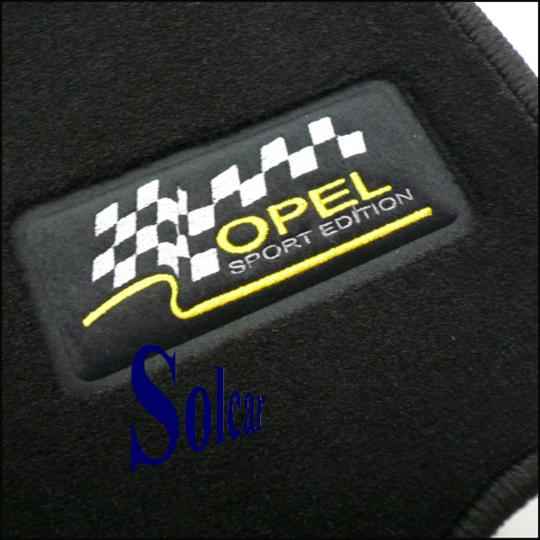 tapis auto personnalis opel sport tapis personnalis voiture opel corsa c sport edition. Black Bedroom Furniture Sets. Home Design Ideas