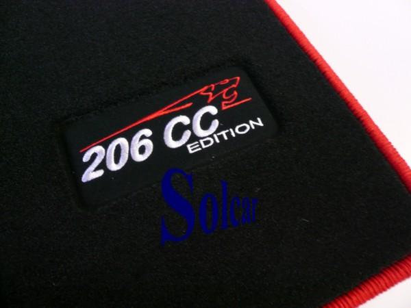 Tapis Auto Personnalis Peugeot Sport Edition Tapis Voiture Peugeot 206cc Sport Edition