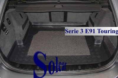 e90 4 et 5 portes tapis de coffre bmw serie 3 touring e91. Black Bedroom Furniture Sets. Home Design Ideas