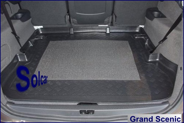 tapis de coffre renault tapis de coffre renault grand scenic iii 7 places. Black Bedroom Furniture Sets. Home Design Ideas
