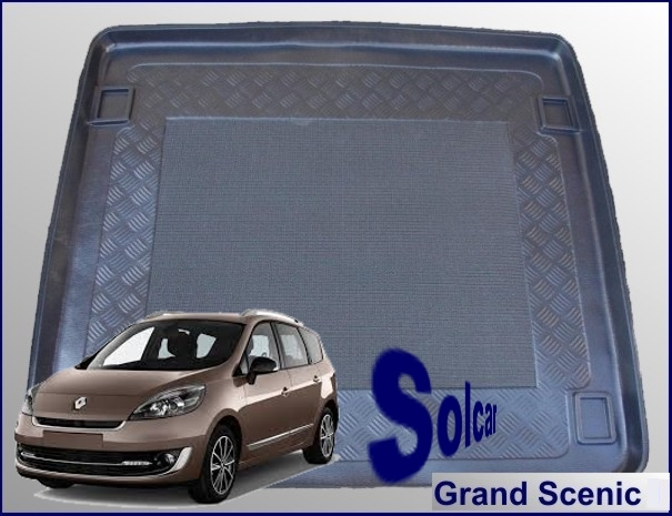 scenic tapis de coffre renault grand scenic. Black Bedroom Furniture Sets. Home Design Ideas