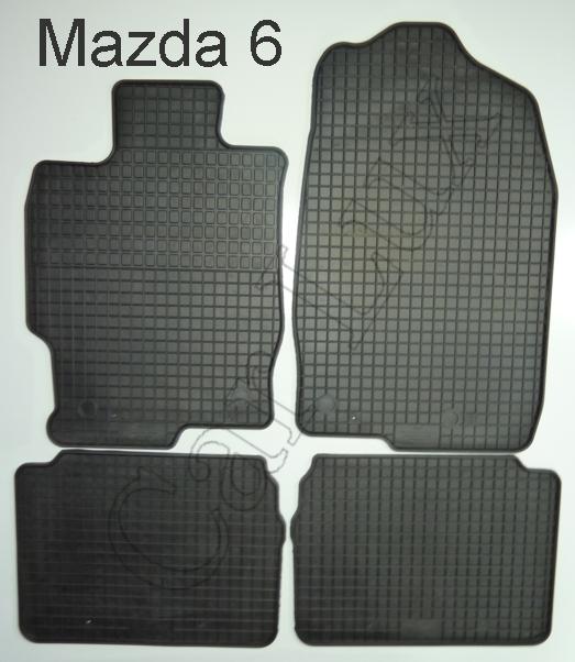 tapis de sol en caoutchouc mazda tapis sol auto caoutchouc mazda 6 ii. Black Bedroom Furniture Sets. Home Design Ideas