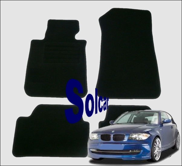 e87 5p auto tapis bmw serie 1 e87 velours. Black Bedroom Furniture Sets. Home Design Ideas