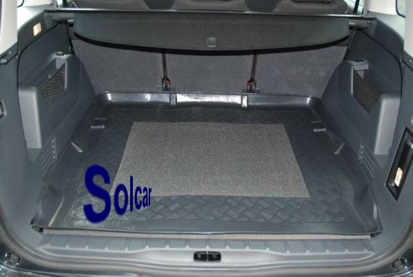 5008 tapis bac de coffre peugeot 5008. Black Bedroom Furniture Sets. Home Design Ideas