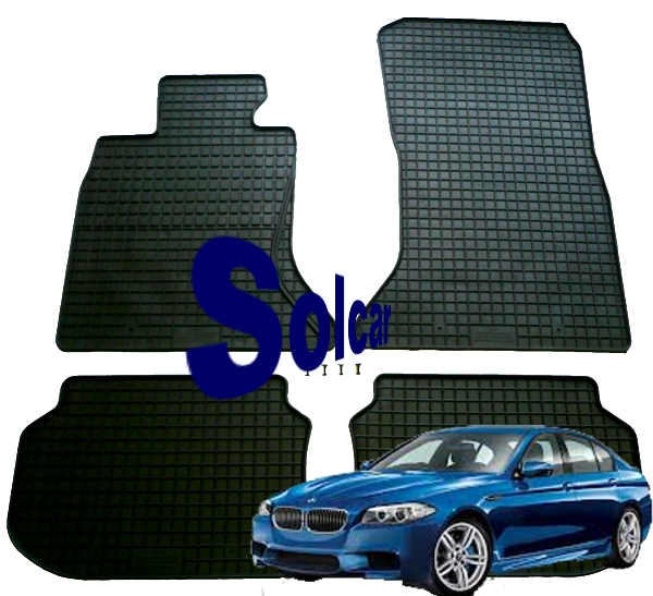 f10 f11 2010 tapis de sol en caoutchouc bmw serie 5 f10. Black Bedroom Furniture Sets. Home Design Ideas