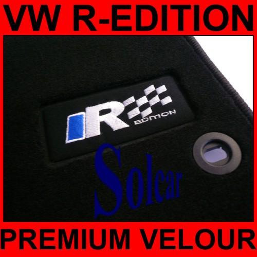 Tapis Auto Personnalise Vw R Sport Edition Tapis De Sol Voiture